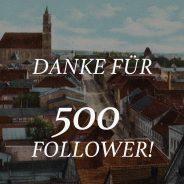 500 Instagram Follower!