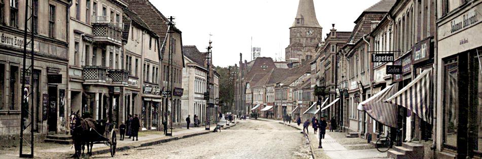 Pasewalk - old town